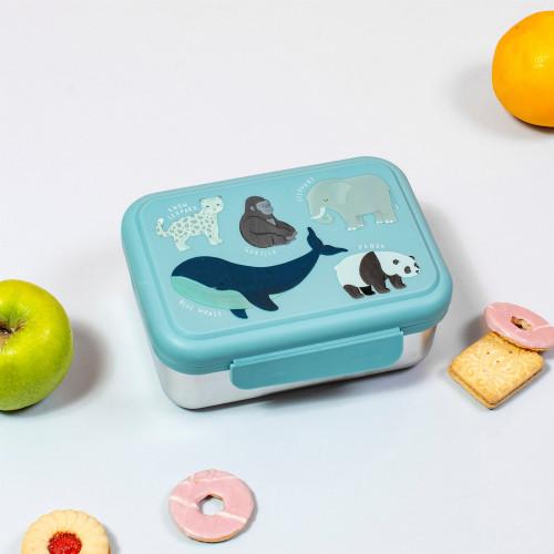 lunchbox RVS bedreigde diersoorten