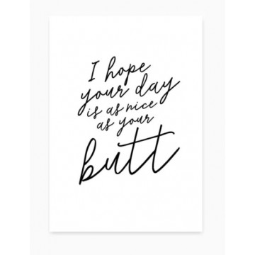 kaartje nice day butt