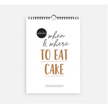 Verjaardagskalender when & where to eat cake