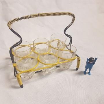 draadrekje glazen geel