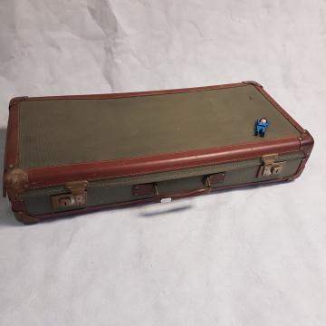 valies groen bruin smal