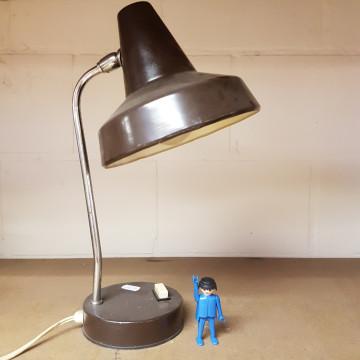 bureaulamp bruin