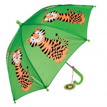 kinderparaplu tijger