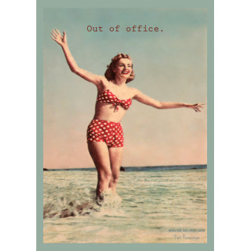 kaart out of office