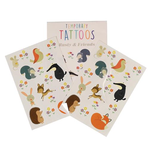 tattoos vos egel das
