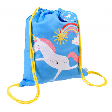 rugzak unicorn drawstring